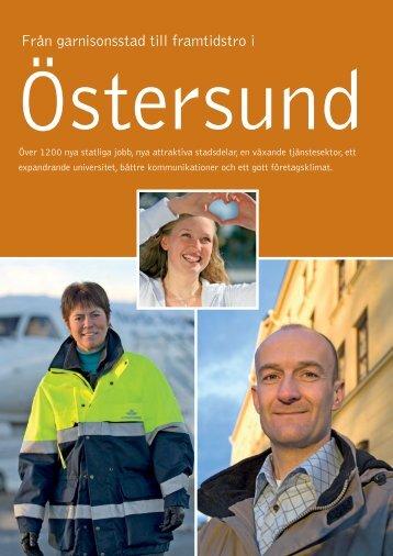 Från garnisonsstad till framtidstro - Östersunds kommun