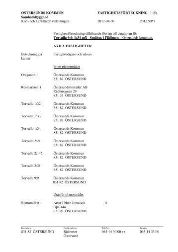 och Lantmäteriavdelningen 2012-04-30 2012.5057 831 82