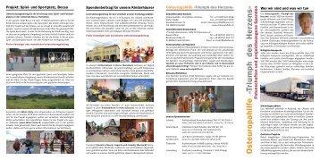 pdf: Patenschaften oder Spenden - Osteuropahilfe