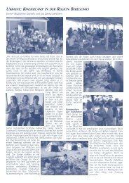 ukraine: kindercamp in der region beregowo - Osteuropamission ...