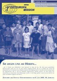 Zeitung_Juli 09 - Osteuropamission Schweiz