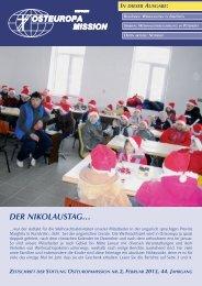 dER NIkolaUsTag… - Osteuropamission Schweiz