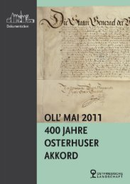 400 Jahre Osterhuser Akkord - Ostfriesische Landschaft