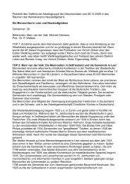 08.12.2006, Mennoniten in Neustadtgödens und Leer - Ostfriesische ...