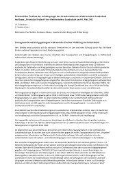 Protokoll des Treffens der Arbeitsgruppe der Ortschronisten der ...