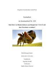 Facharbeit im Seminarfach Nr. 229 - Ostfriesische Landschaft
