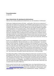 Presseinformation Neue Kinderbücher für plattdeutsche Bücherkisten