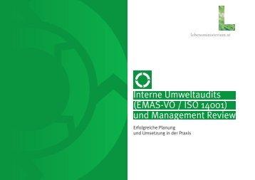 Interne Umweltaudits (EMAS-VO / ISO 14001) und Management ...