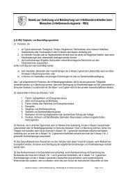 Merkblatt Belehrung nach Infektionsschutzgesetz - Amt-Neuhaus