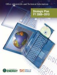 OSTI Strategic Plan FY 2009-2013