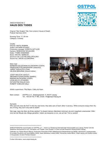 HAUS DES TODES - OSTPOL