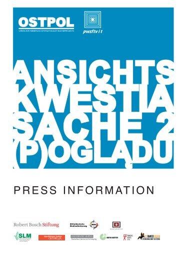 PRESS INFORMATION - OSTPOL