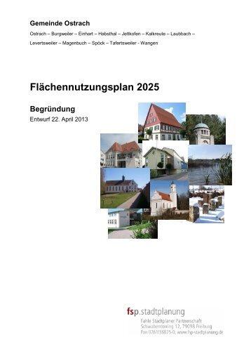 13-04-22 Begründung Entwurf Stand 23.04.2013 - Ostrach