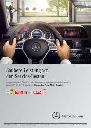 Saubere Leistung von den Service-Besten. - Mercedes-Benz ...