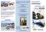 Urlaub mit Hund Schönberger-Strand Ostsee - Ostseeblick Holm