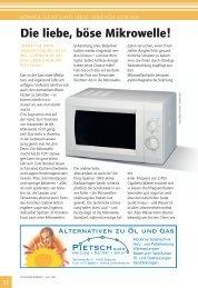 Die liebe, böse Mikrowelle! - Ostseereporter - Marius Jaster
