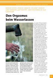 Der Orgasmus beim Wasserlassen.pdf - Ostseereporter - Marius Jaster