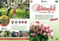 Blütenfolder als PDF zum Downloaden - Oststeiermark
