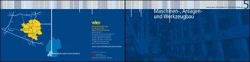 Broschüre Maschinenbau - WiRO