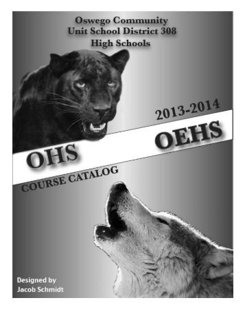 Course Catalog - Oswego Community Unit School District 308