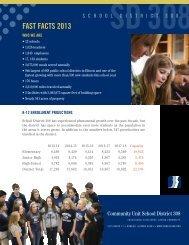 Fast Facts - Oswego Community Unit School District 308