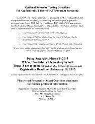 FAQs, Information & Registration Form - Oswego Community Unit ...