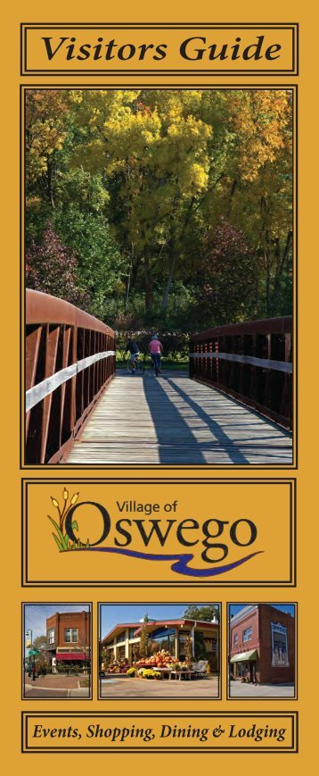 Visitors Guide - Oswego Illinois