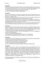 Änderung von Steuerbescheiden (5. Semester) - OSZ Lotis Berlin