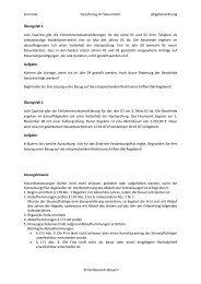 AO-Festsetzungsverjährung (5.Semester) - OSZ Lotis Berlin