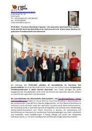 Feierliche Verleihung der Spanischen ... - OSZ Lotis Berlin