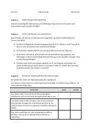 Lerninsel Arbeitsvertrag Arbeitsrecht Aufgabe 1 ... - OSZ Lotis Berlin
