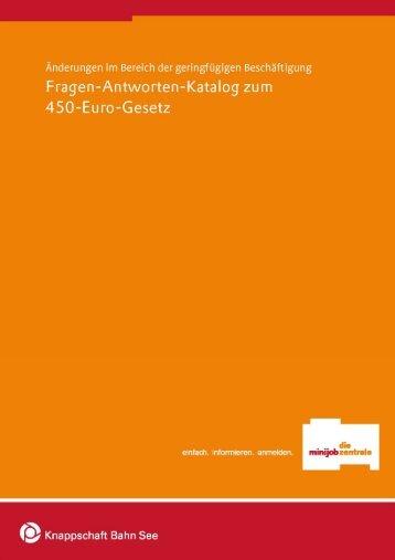 FAQs zu Minijobs 450 - OSZ Lotis Berlin
