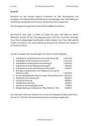 Ermittlung des Einkommens - OSZ Lotis Berlin