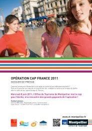 Opération Cap France - Office de Tourisme de Montpellier