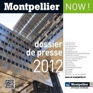dossier de presse - Office de Tourisme de Montpellier
