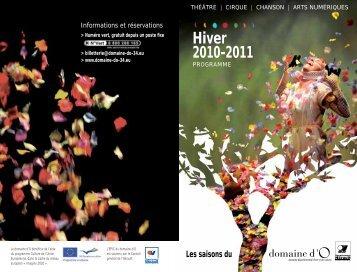 Hiver 2010-2011