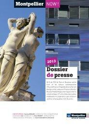 Dossier depresse - Office de Tourisme de Montpellier