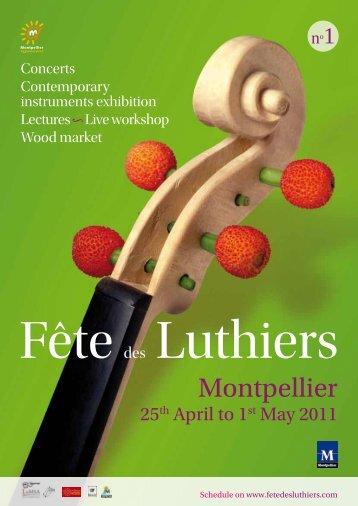 Fête des Luthiers - Office de Tourisme de Montpellier