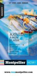 Manger 2013 - Office de Tourisme de Montpellier
