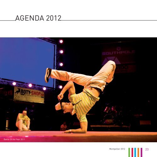 AGENDA 2012 - Office de Tourisme de Montpellier