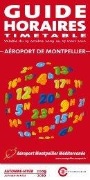 HORAIRES - Office de Tourisme de Montpellier