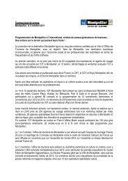 34-L'OT sur tous les fronts - Office de Tourisme de Montpellier