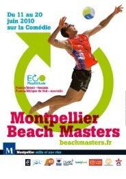 Présentation du Beach-volley - Office de Tourisme de Montpellier