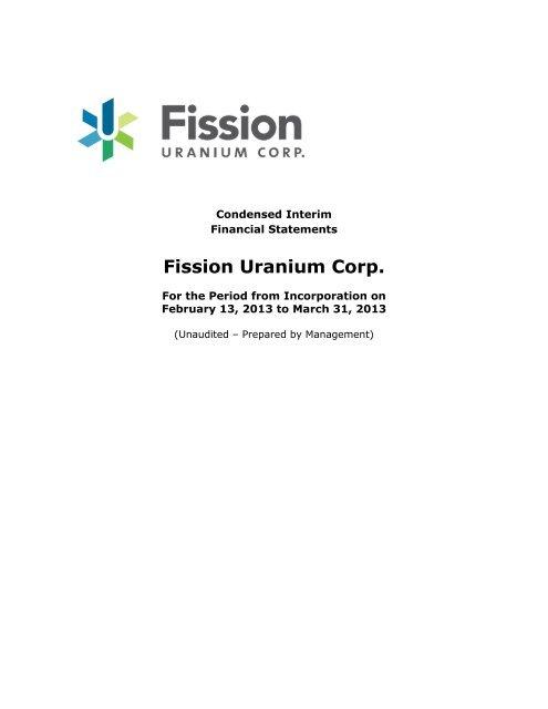 Fission Uranium Corp  - OTC Markets