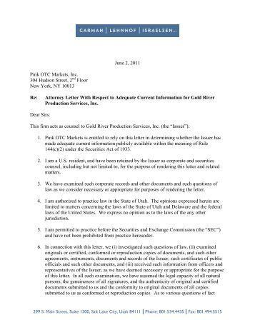engagement letter otciqcom