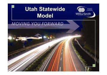 Utah Statewide Model