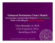 Enhanced Destination Choice Models - Ohio Travel Demand Model ...