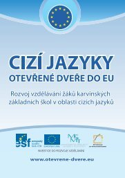 Brožura o projektu.pdf - Cizí jazyky - Otevřené dveře do EU