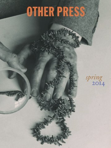 spring 2014 - Other Press