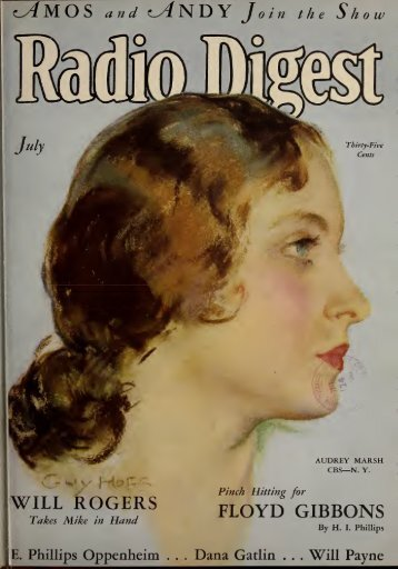 Radio Digest, 1930 - Old Time Radio Researchers Group